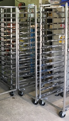 Stainless steel racks 2