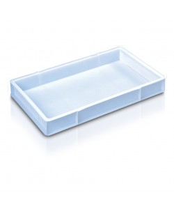White confectionary tray